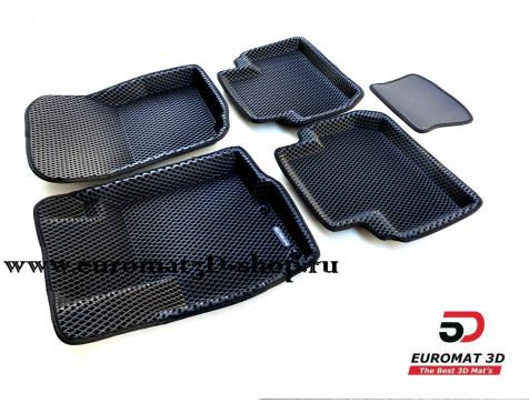 3D коврики Euromat3D EVA в салон для Citroen C-Crosser № EM3DEVA-003609