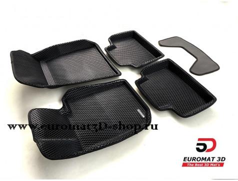 3D коврики Euromat3D EVA в салон для Bmw 3 (G20) (2019-) № EM3DEVA-001225