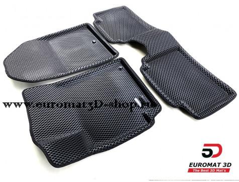 3D коврики Euromat3D EVA в салон для Hyundai Elantra (2016-) № EM3DEVA-002702